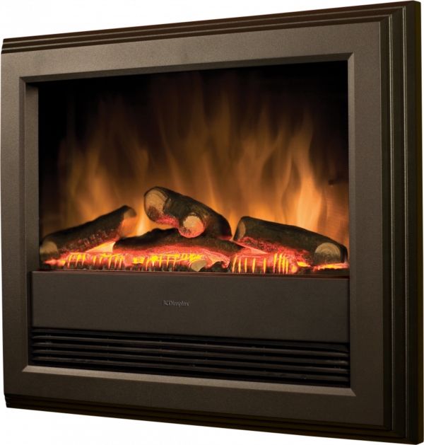 Bach wall mounted electric optiflame fire-0