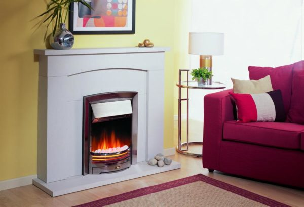 Inset Fire - Adagio Chrome - ADG20 - 1-1