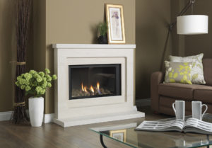 Paragon P8 in Modern Surround gas fire.