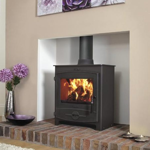 flavel-no-2-curved-multifuel-stove