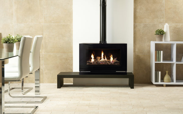 Gas-Vision-Large-Driftwood-effect-EchoFlame-Black-Glass-lining-Riva-140-Low-Bench-lb