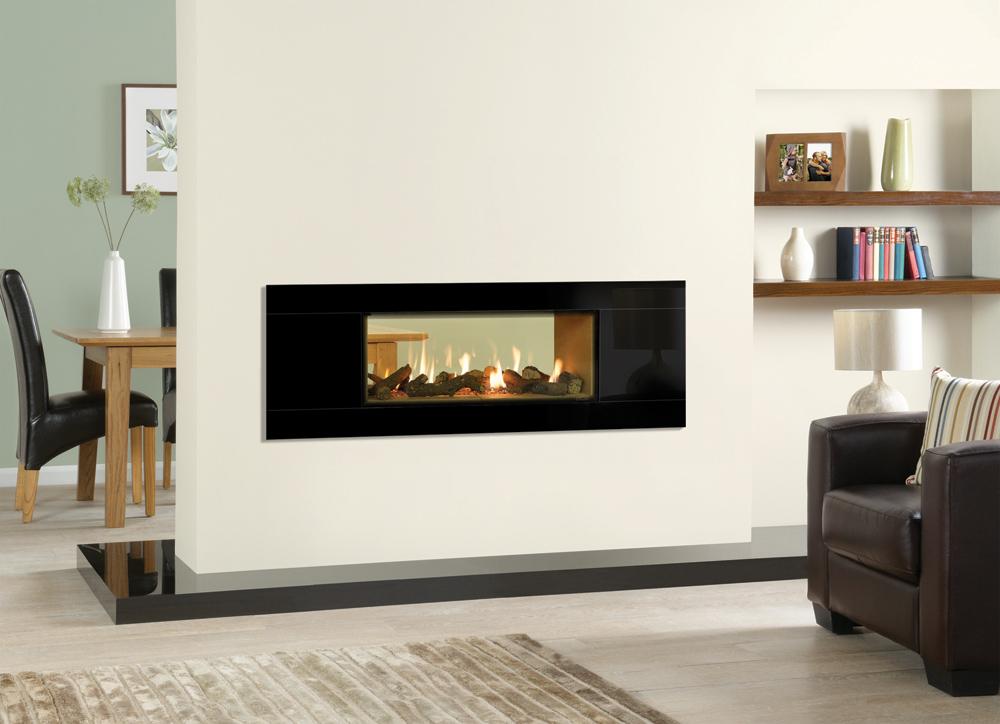 Gazco Studio Duplex Double-Sided Gas Fire – Quality Fireplaces