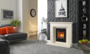 Inspire 400 FS Vicenza Suite 4-Sided Grande Trim Black Vermiculite HR