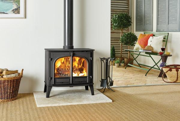 Stockton-11-in-matt-black-burning-wood-lb