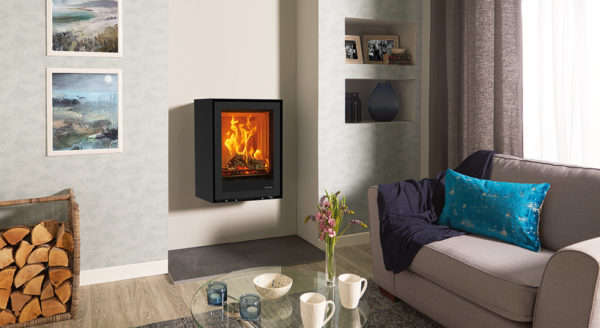 Stovax-Freestanding-Elise-Glass-540T-rear-flue-multi-fuel-burning-logs-with-wall-mounting-bracket-lb