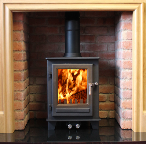 Clock Woodburners The Blithfield Compact 5kw Quality