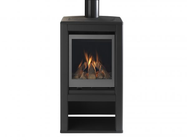 Valor Inspire Large Stove solus front on no logs