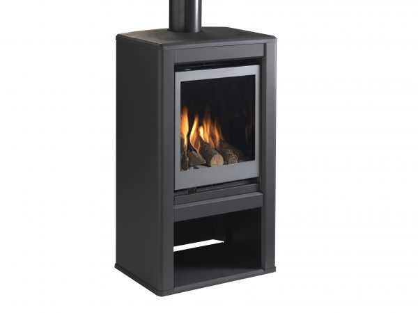 Valor Inspire Large Stove solus right angle no logs